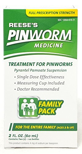 Pinworm Medicine Reese's Special Pack of 2 (4oz)