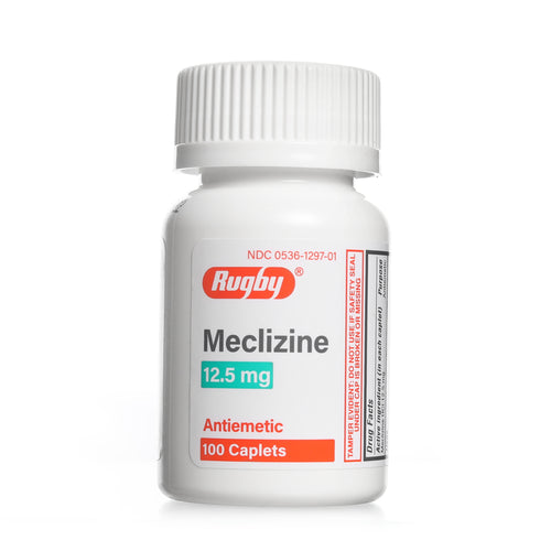 Meclizine 12.5mg 100 Count Caplets | Antiemetic