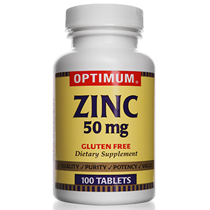 Zinc Gluconate 50 mg | 100 Count Tablets | Gluten Free | Dietary Supplement