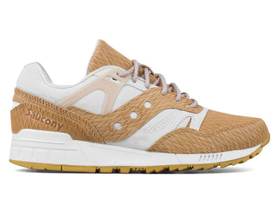 Saucony Grid SD Woodburn (Tan/Grey)
