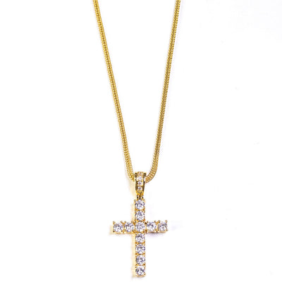 Golden Gilt Gold Cross