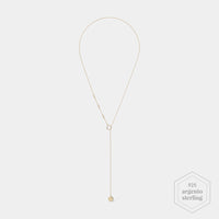CLUSE Essentielle Gold Hexagon Charm Lariat Necklace CLJ21013 - Necklace