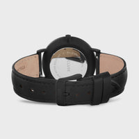 CLUSE La Bohème Leather Black, Black/Black CW0101201018 - Watch clasp and back