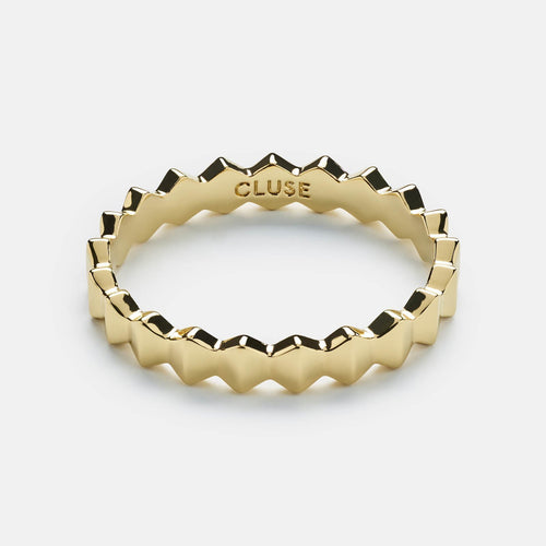 Image: CLUSE Essentielle Gold All Hexagons Ring-54 CLJ41006-54 - Anello taglia 54