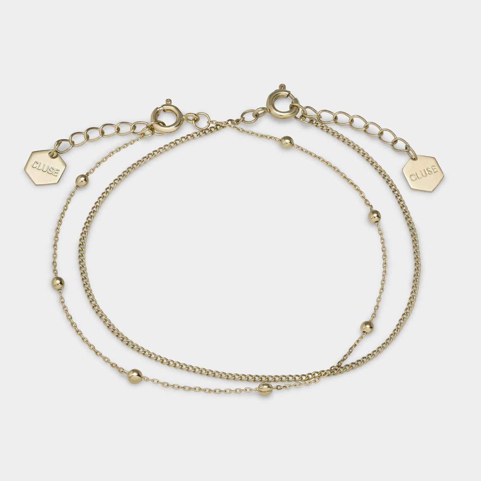 CLUSE Essentielle Gold Set of Two Fine Bracelets CLJ11010 - Bracciale