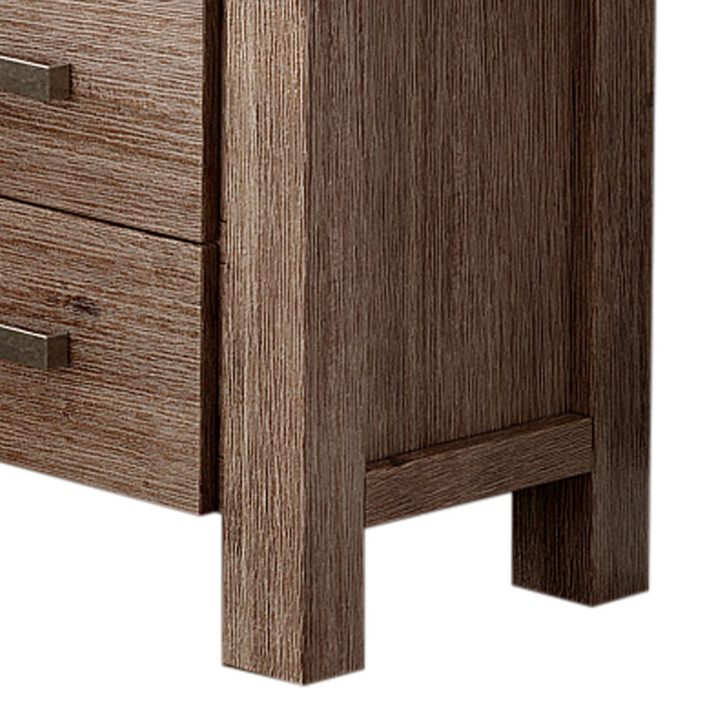 Nowra 2 Drawer Bedside Table