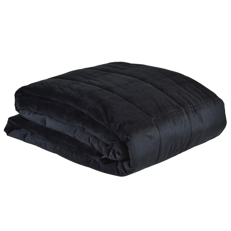 Aria Comforter Black - House of Isabella AU