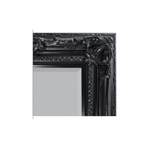 Venice Leaner Mirror Black 1845x990mm