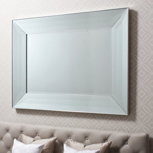 Fargo Wall Mirror Silver 1210x905mm