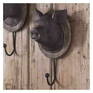 Pig Head Wall Hook 125x110x245mm