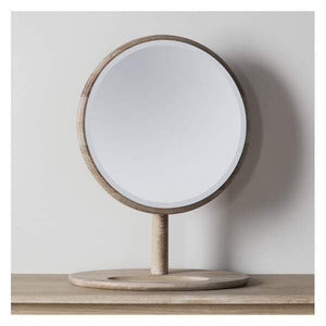 Walter Solid Oak Dressing Mirror 460x635mm