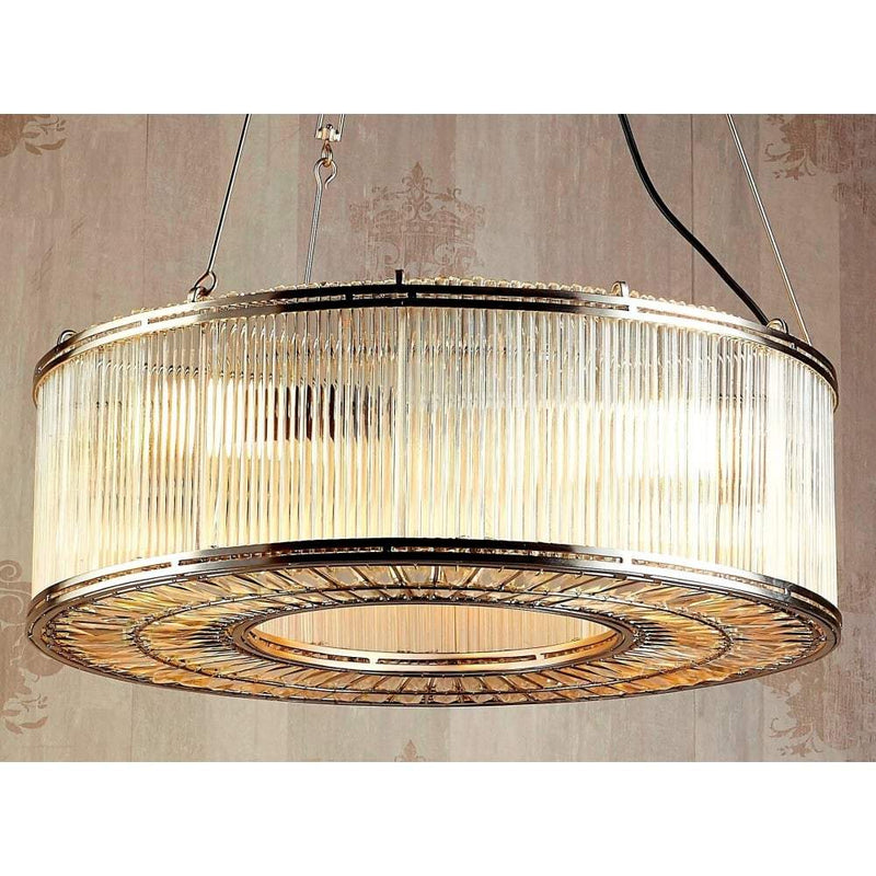 Verre Ring Glass Pendant Lamp - House of Isabella AU
