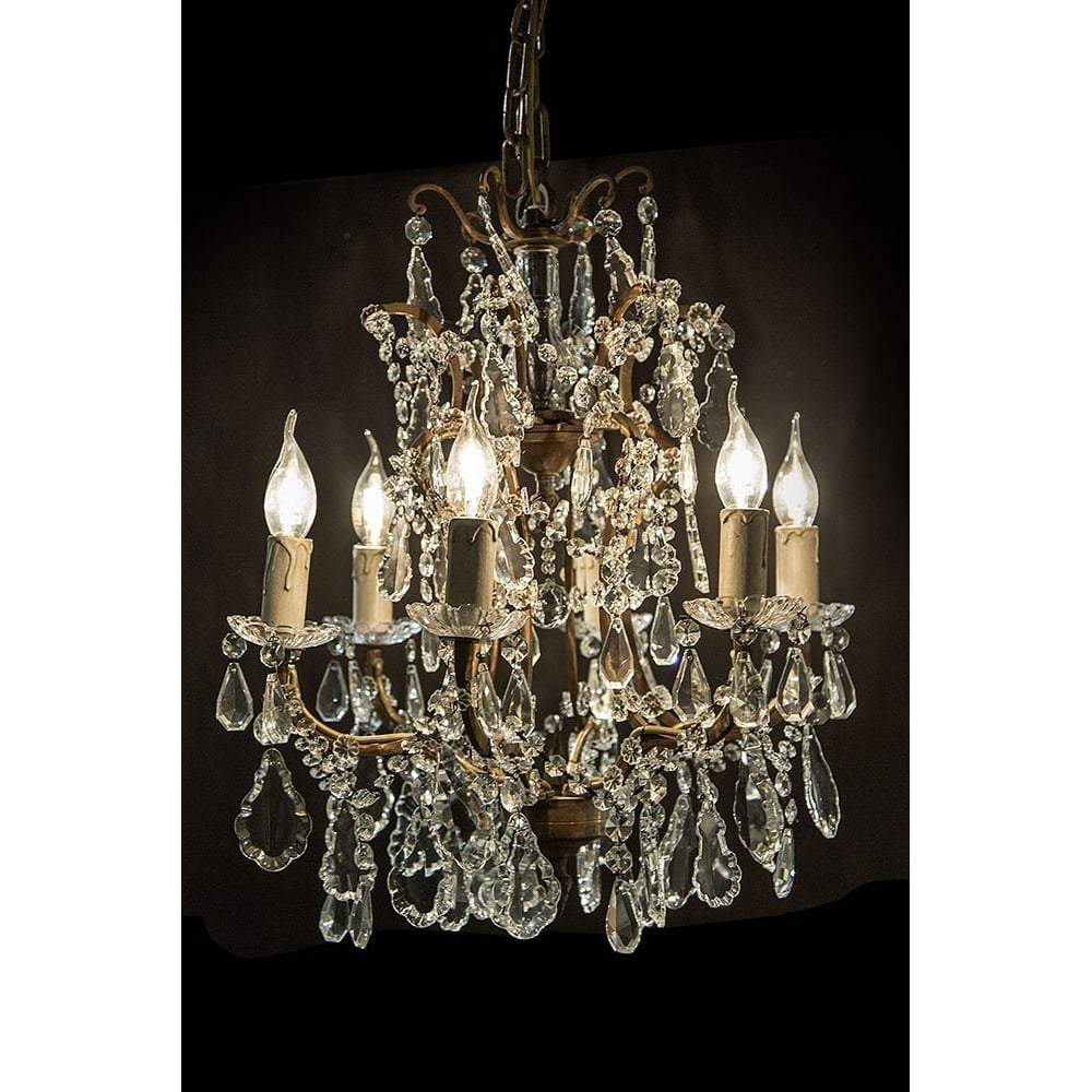 Chantilly french vintage chandelier