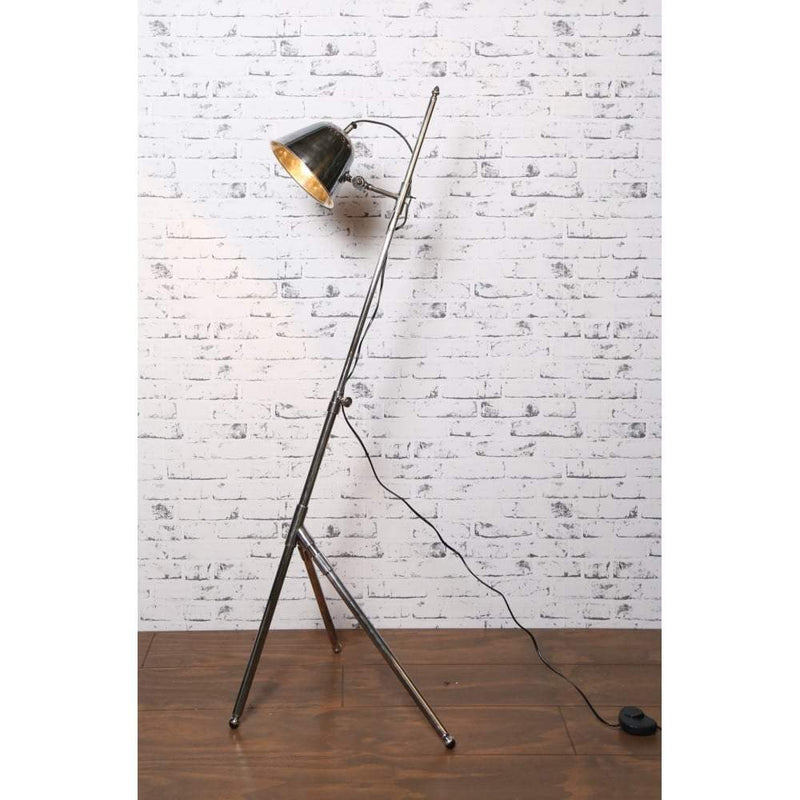 Belvedere Floor Lamp Antique Silver - House of Isabella AU