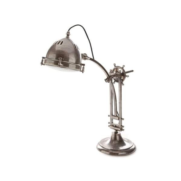 Seabury Desk Lamp Antique Silver - House of Isabella AU