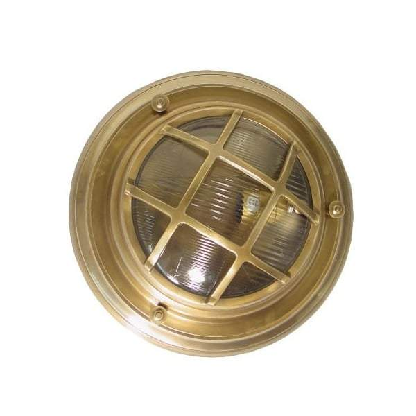 Jervis Porthole Wall Light Antique Brass - House of Isabella AU