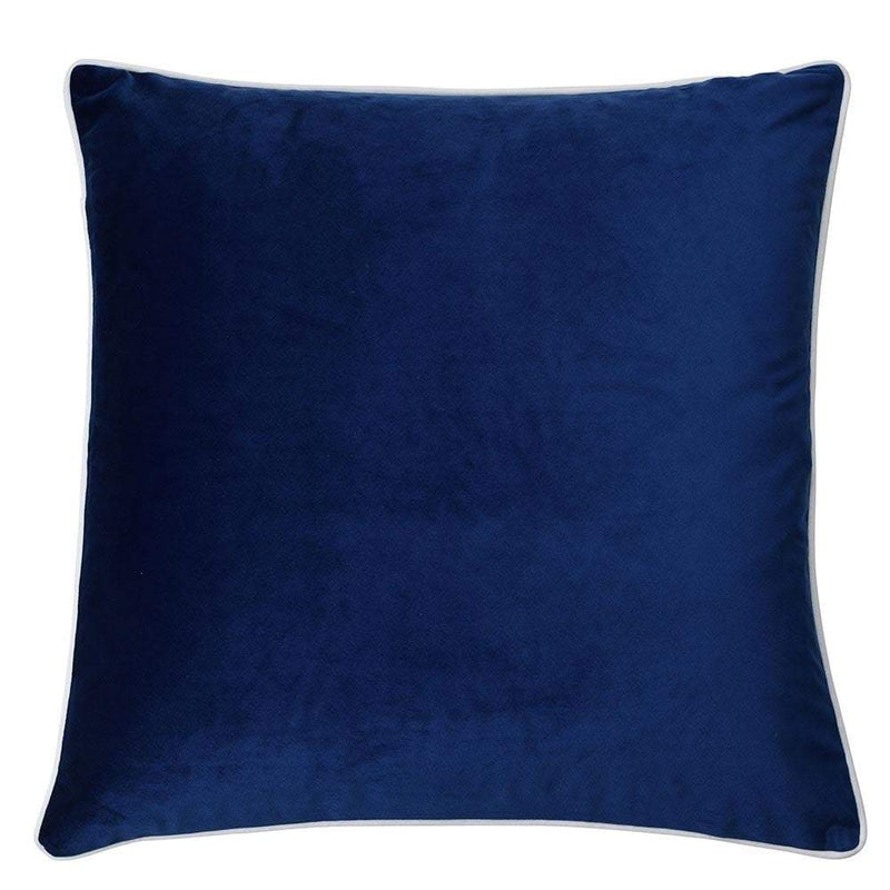 Rodeo Navy Cushion Cover with Feather Insert - House of Isabella AU