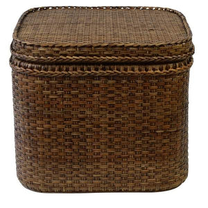 Plantation Rattan Chest Square