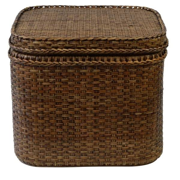 Plantation Rattan Chest Square - House of Isabella AU