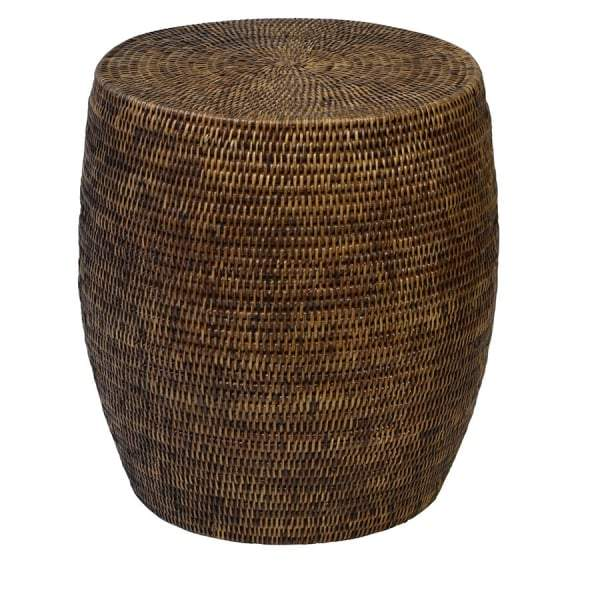 Plantation Natural Rattan Drum