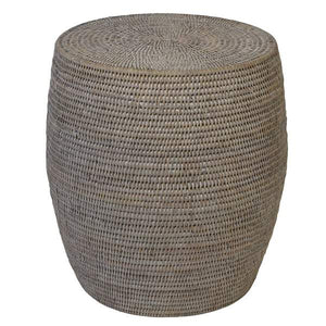 Verandah Natural Rattan Drum