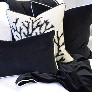 Rodeo Black Cushion Cover
