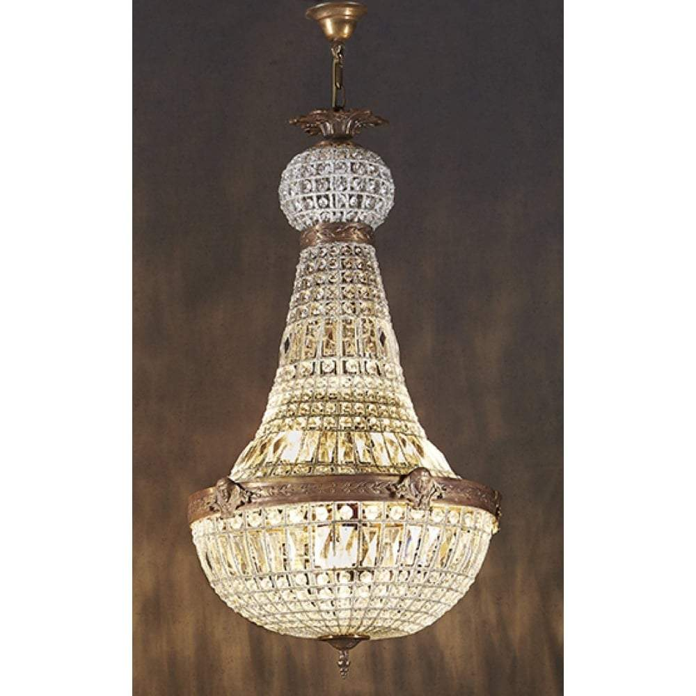 Empire Style Teardrop Chandelier Extra Large