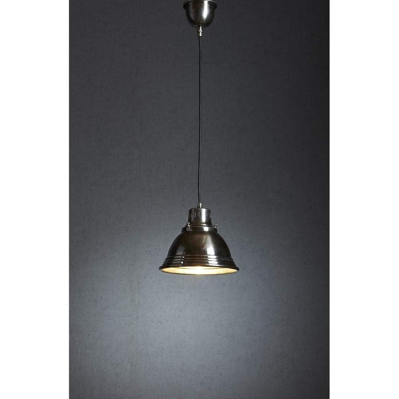 Robertson Hanging Lamp in Silver