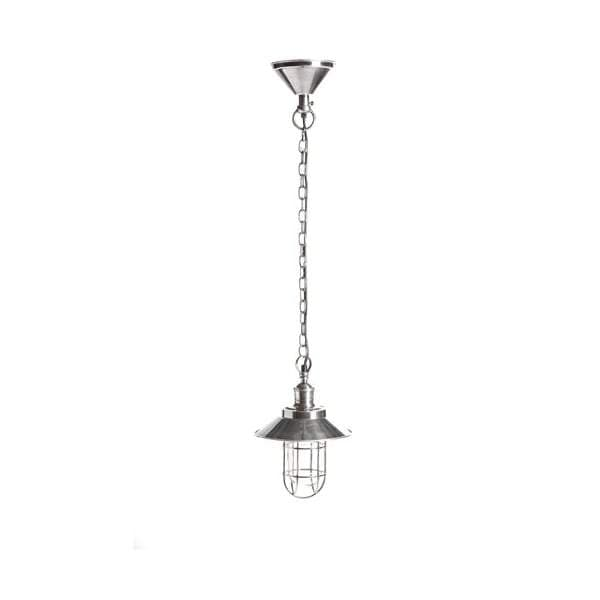 Maine Overhead Lamp in Silver
