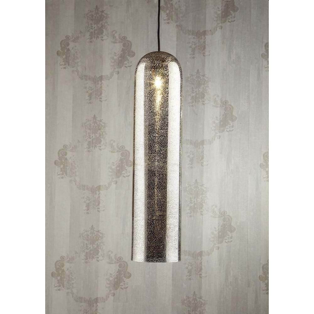 Moroccan Pipe Ceiling Lamp Nickel - House of Isabella AU