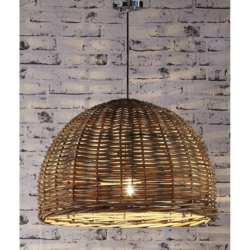 Rattan Large Hanging Pendant 60x40 - House of Isabella AU