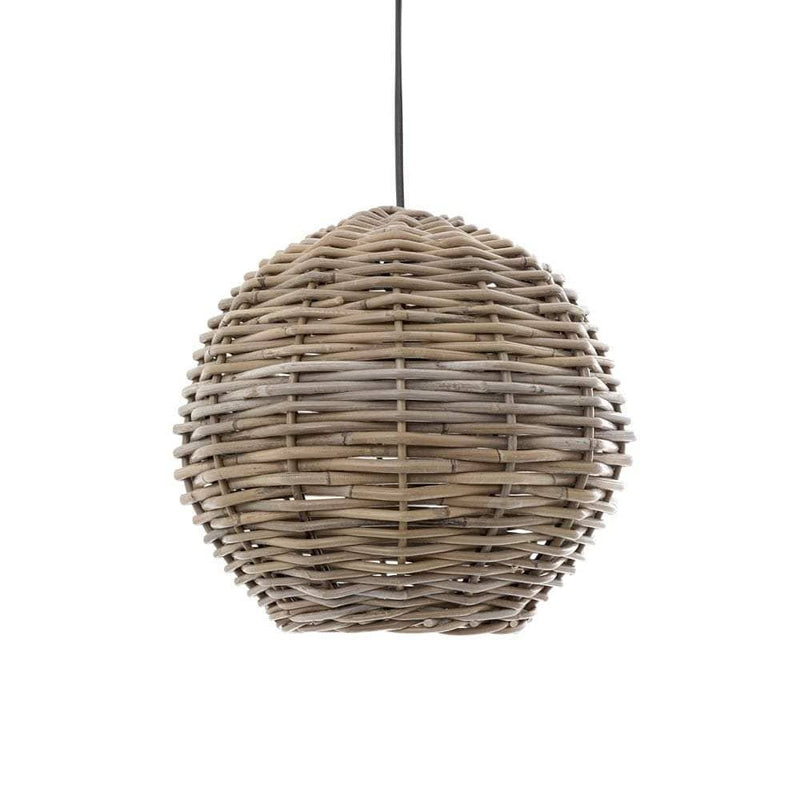 Rattan Round Hanging Pendant 30cm - House of Isabella AU