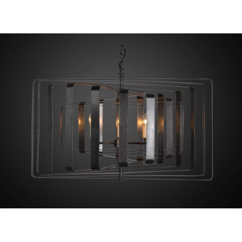 Tamarama Ceiling Light in Black Brass - House of Isabella AU