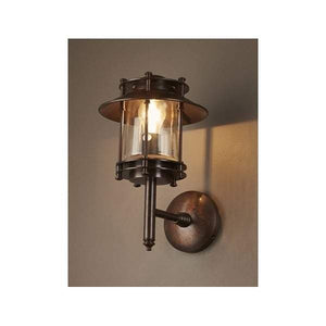 Turner Wall Lamp Dark Brass