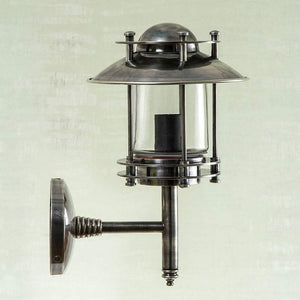 Turner Wall Lamp Antique Silver
