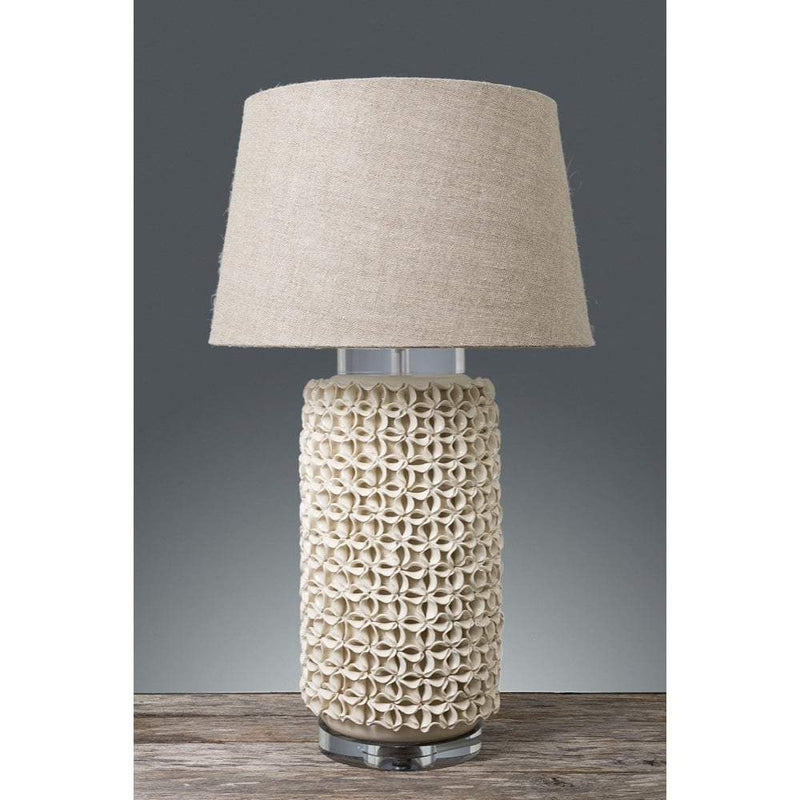 Newlands Vase Lamp with Crystal Base