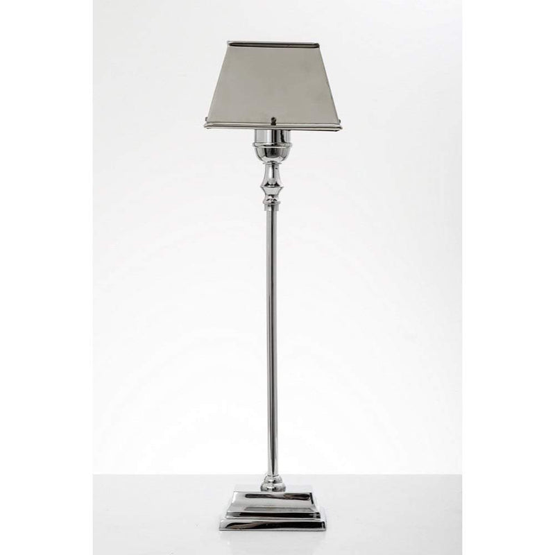Collin Table Lamp in Shiny Nickel - House of Isabella AU