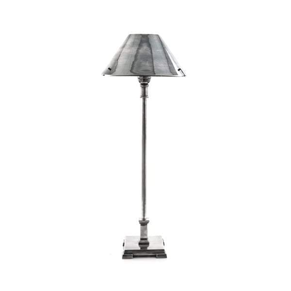 Bruxelles Table Lamp in Antique Silver