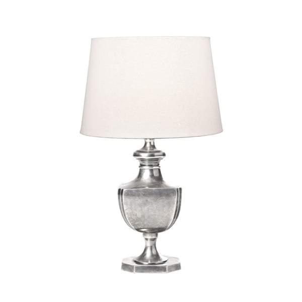 Albany Urn Table Lamp Base Silver - House of Isabella AU