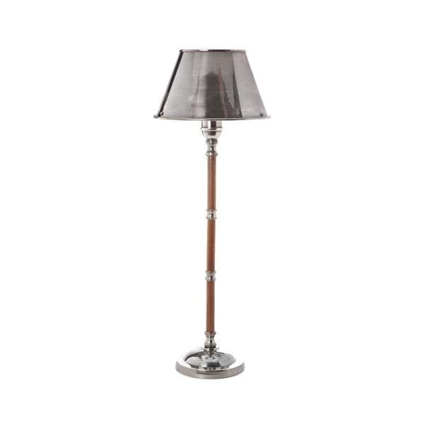 Delaware Table Lamp W/Metal Shade Silver - House of Isabella AU