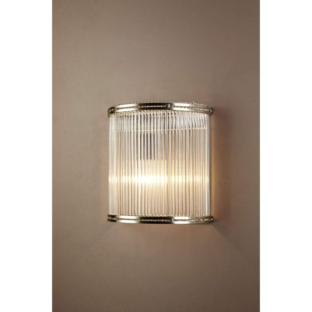 Verre Half Round Glass Wall Lamp