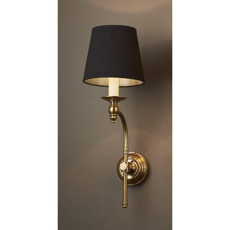 Soho Curved Sconce Base Antique Brass - House of Isabella AU