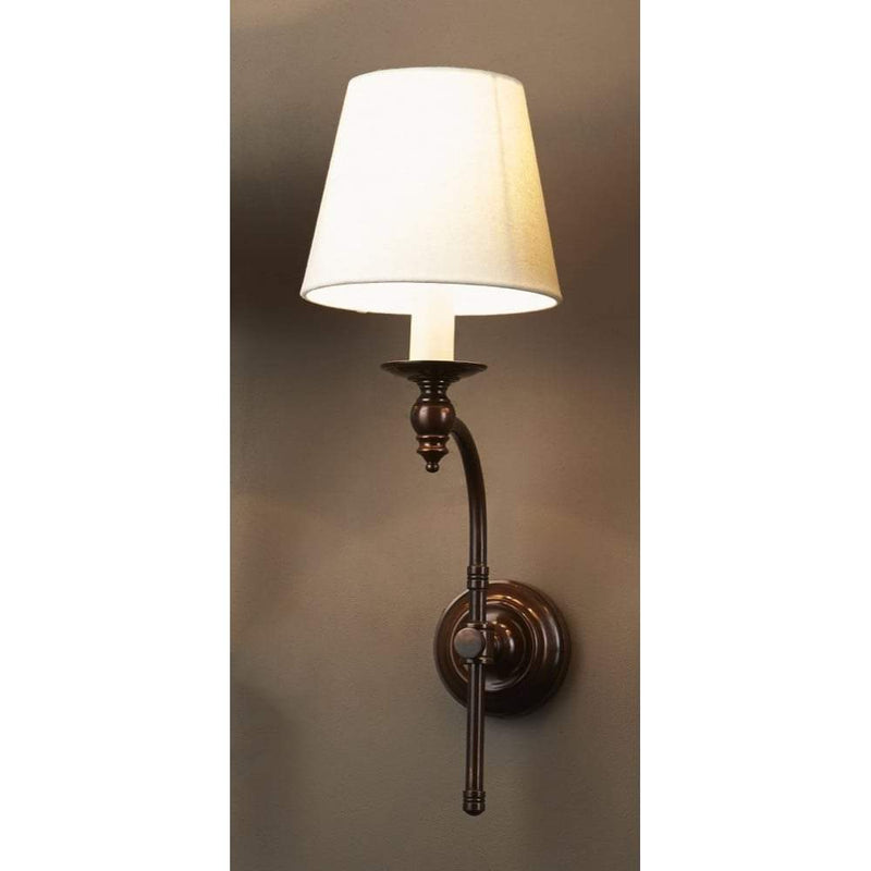 Soho Curved Wall Sconce Base Florentine Bronze