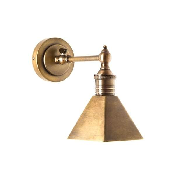 Mayfair Wall Sconce in Antique Brass