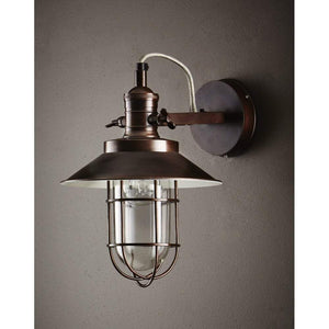 Maine Wall Sconce in Copper Finish