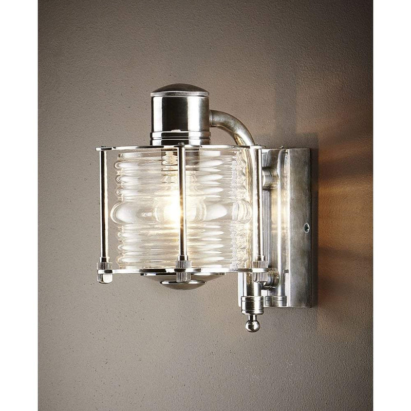 Yarra Wall Lamp in Antique Silver