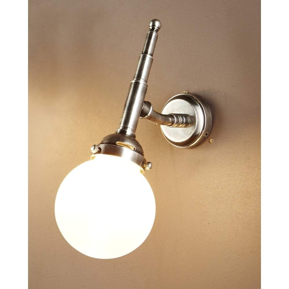 Paris Wall Lamp in Antique Silver - House of Isabella AU
