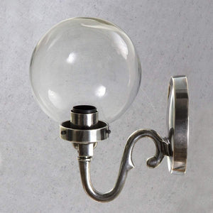 Tuscany Wall Lamp in Antique Silver