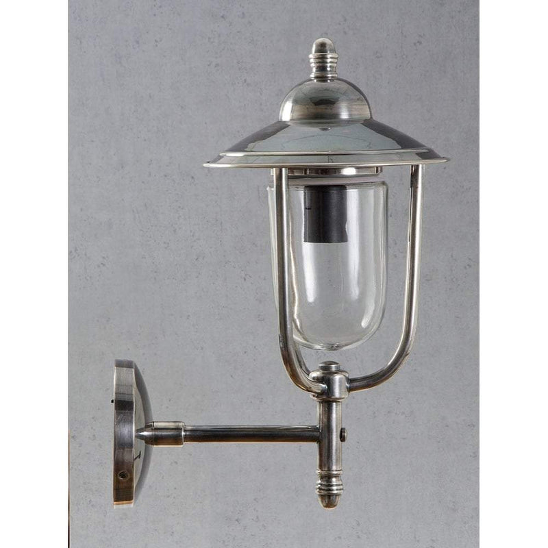Pier Wall Lamp in Antique Silver - House of Isabella AU