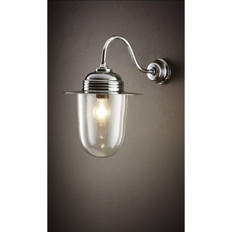 Stanmore Wall Lamp Antique Silver - House of Isabella AU